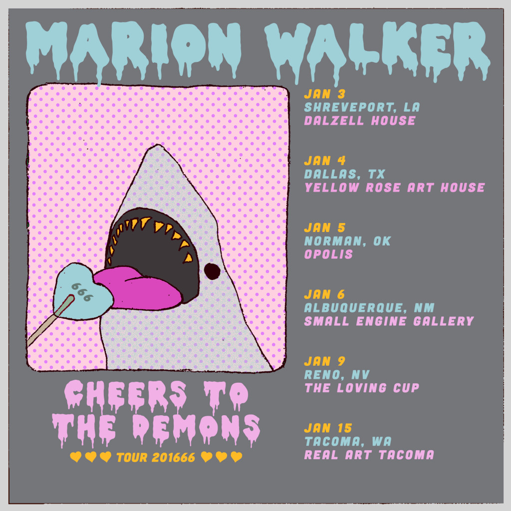 January 201666 Tour - Poster by Jessie Marion Smith